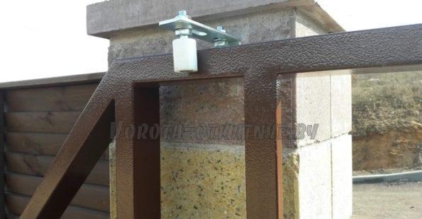 Монтаж откатных ворот минск