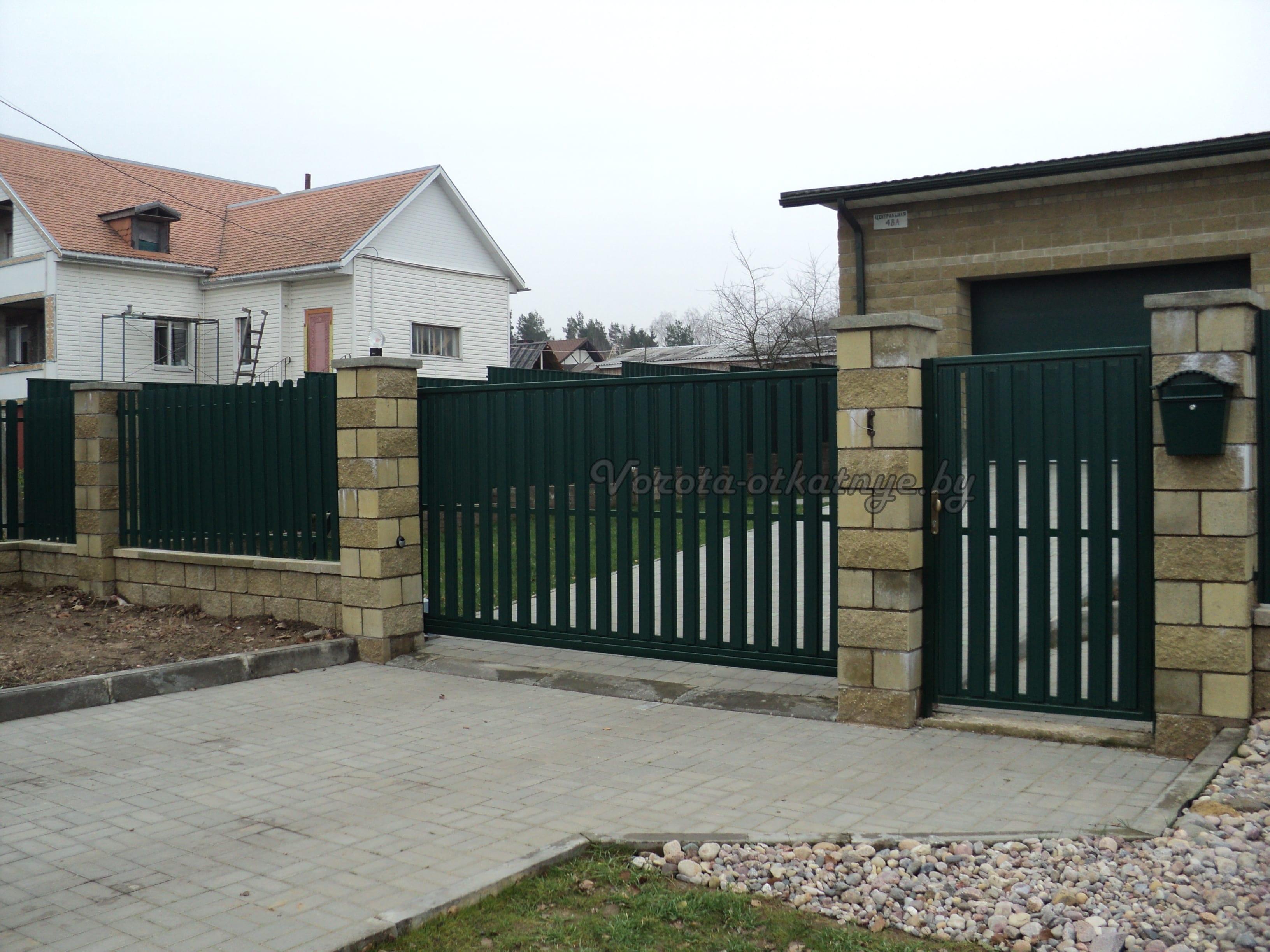 Ворота откатные в Минске