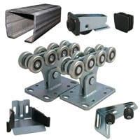 Комплектующие для ворот Алютех SG.01.002 до 500 кг Alutech с неоцинкованной шиной купить в минске цена